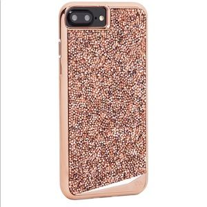 Case-Mate Rose Gold Swarovski Case